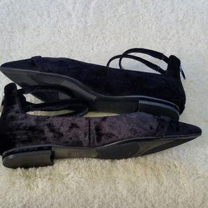 Marc Fisher Shoes - Marc Fisher Alie Black Velvet Flats